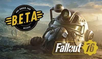Bethesda анонсировала дату начала бета-тестирования Fallout 76