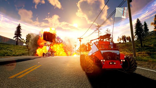 Королевская битва на колёсах — в Steam вышла гоночная игра notmycar