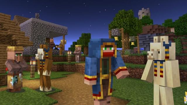 Авторы Minecraft выпустили новую карту и набор скинов в поддержку благотворительной организации