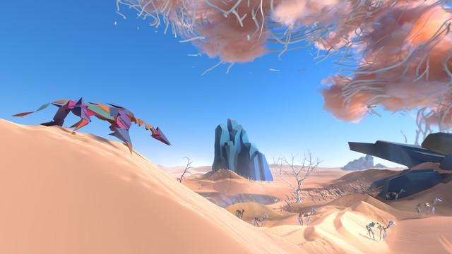 Автор Another World анонсировал Paper Beast — VR-игру об экосистеме, зародившейся на сервере