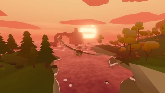 На PC и Switch вышла Feather — созерцательная игра про полёт птицы
